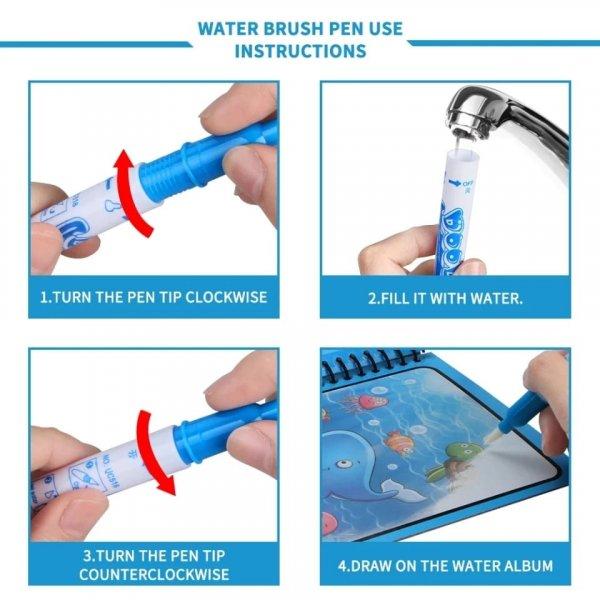carte de colorat cu apa reutilizabila 4