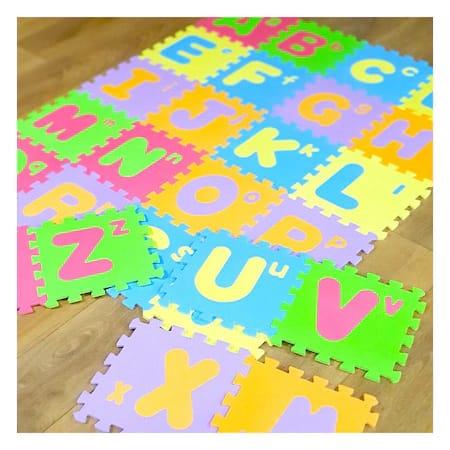 covoras de joaca 26 piese literele alfabetului