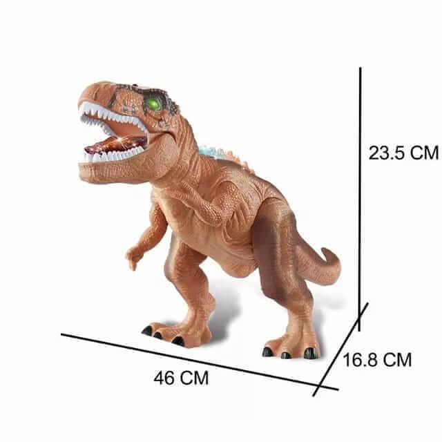 dinozaur de jucarie cu telecomanda 2