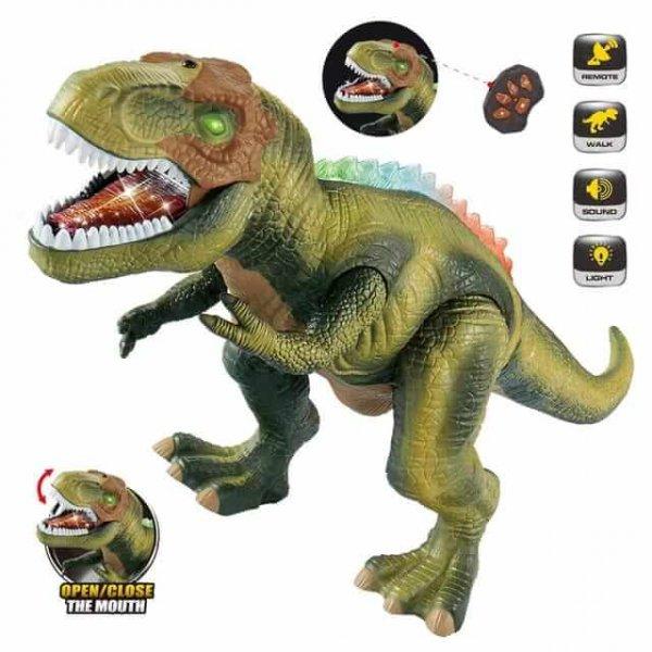 dinozaur de jucarie cu telecomanda 3