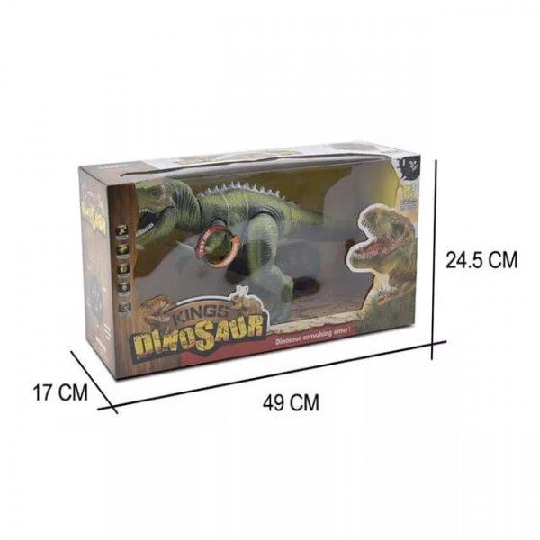 dinozaur de jucarie cu telecomanda