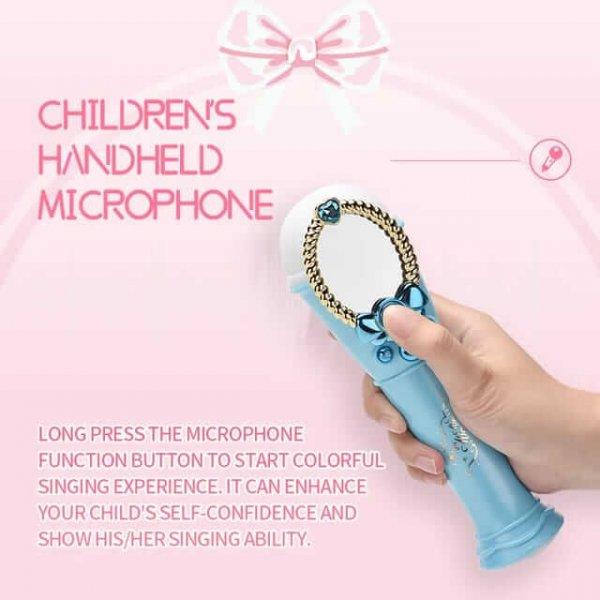 microfon de jucarie cu usb si oglinda 5