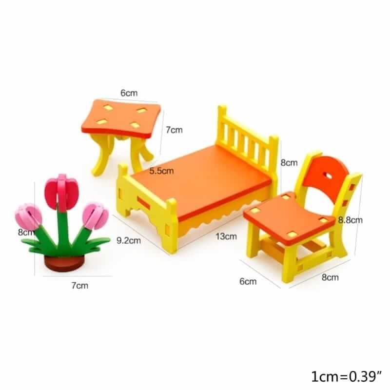 set de construit mobilier dormitor 1