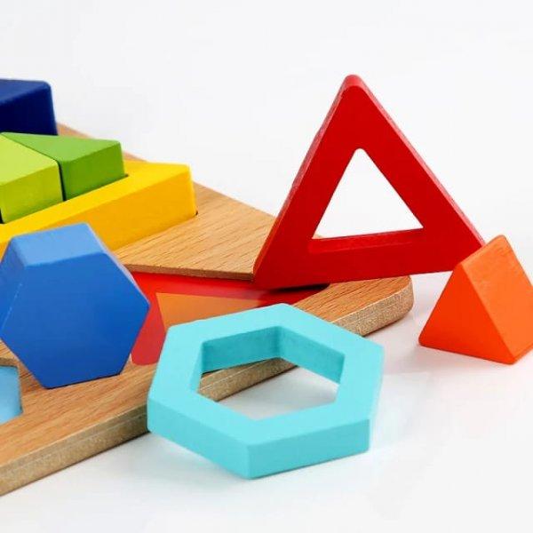 sortator montessori cu forme geometrice 2