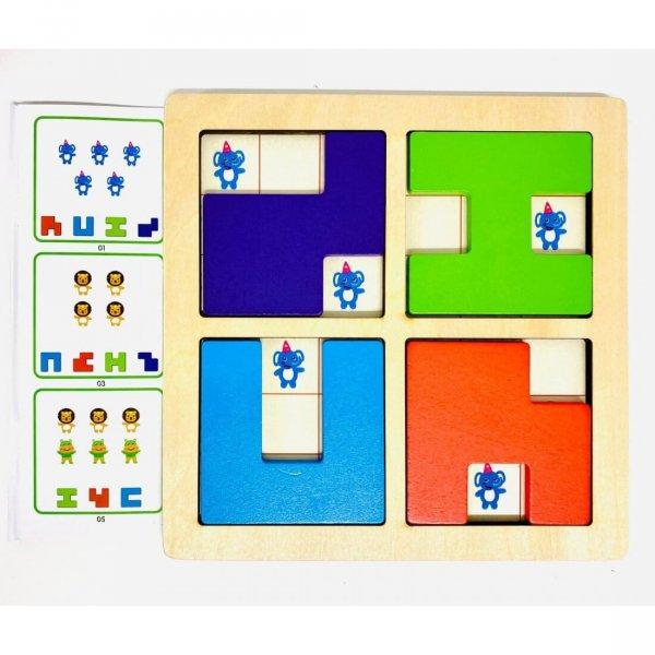 joc de logica din lemn 2