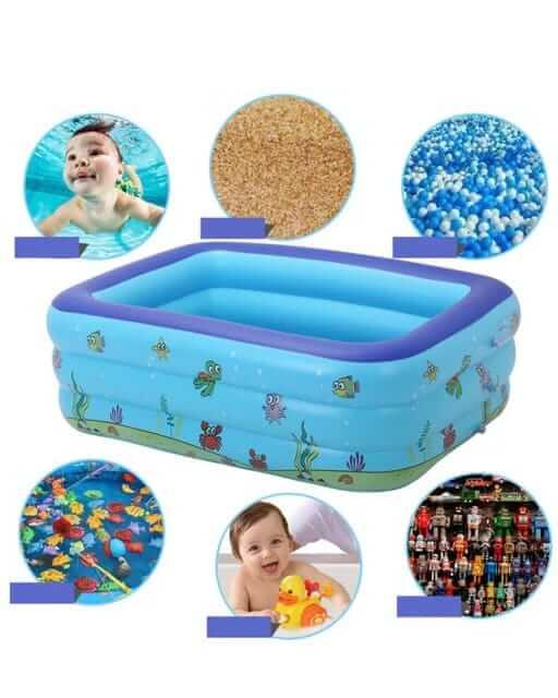 piscina pentru copii cu sezut moale