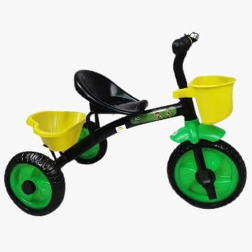 tricicleta cu pedale pentru copii ben ten negru 2