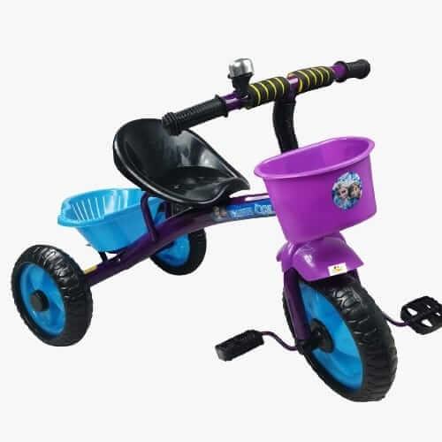 tricicleta cu pedale pentru copii frozen 2