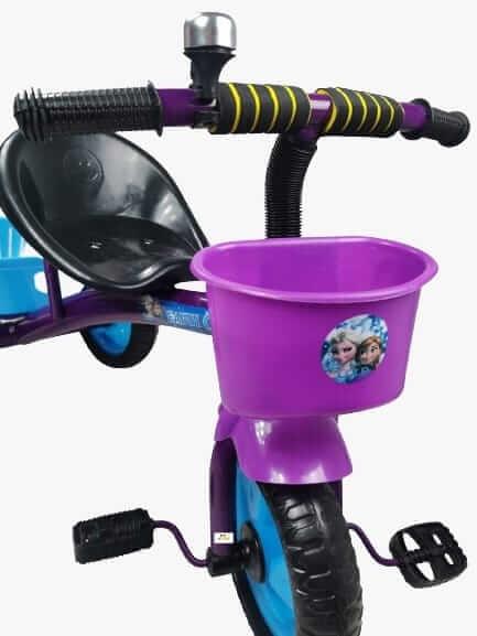 tricicleta cu pedale pentru copii frozen