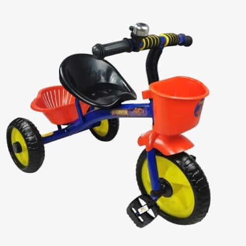 tricicleta cu pedale pentru copii spiderman 1