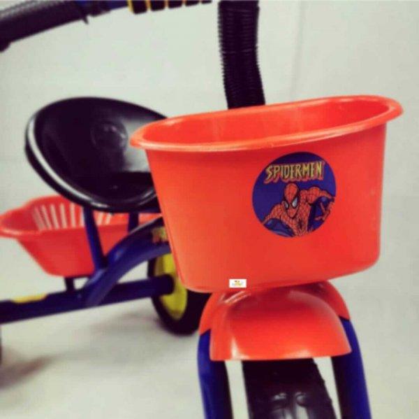 tricicleta cu pedale pentru copii spiderman 2