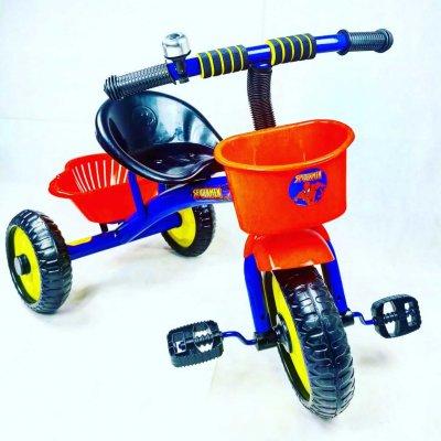 tricicleta spiderman