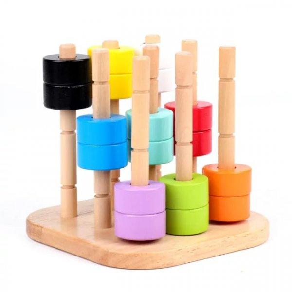 joc montessori lemn