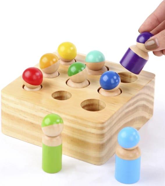 joc montessori din lemn cei 9 prieteni 3