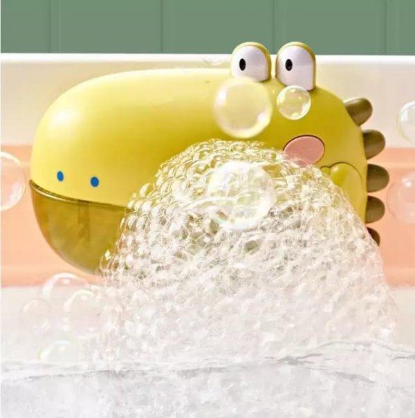 jucarie de baie cu difuzor de spuma si muzica dinozaur 3