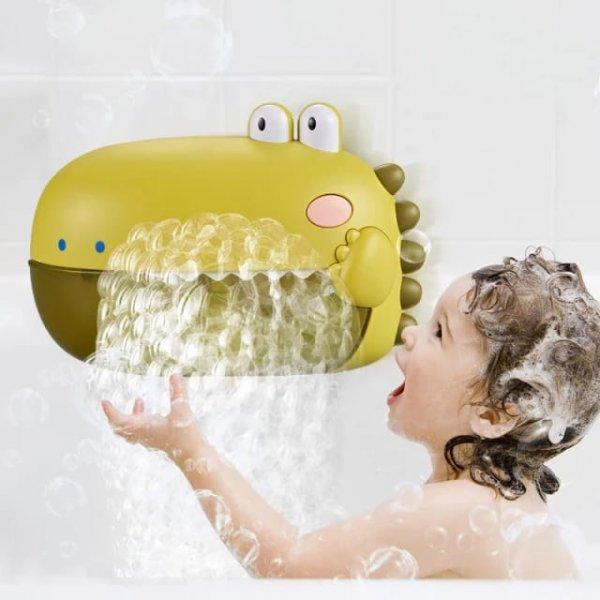 jucarie de baie cu difuzor de spuma si muzica dinozaur 4