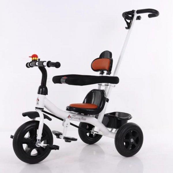 tricicleta pentru copii cu umbreluta si cosulet depozitare 2