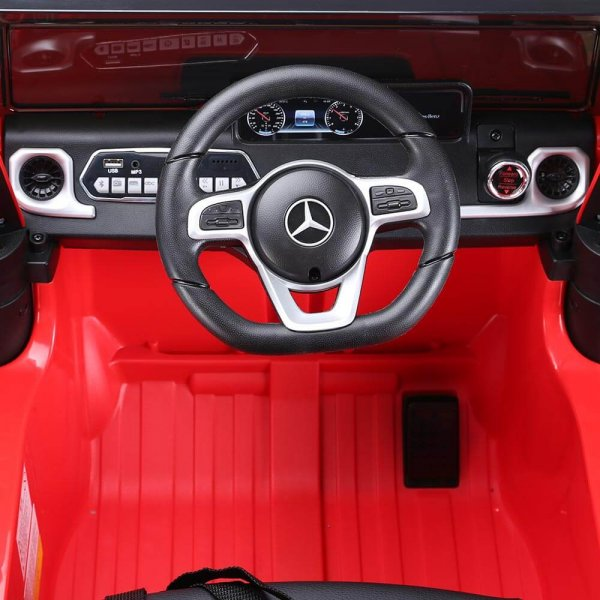 masinuta electrica mercedes g500 rosu 1