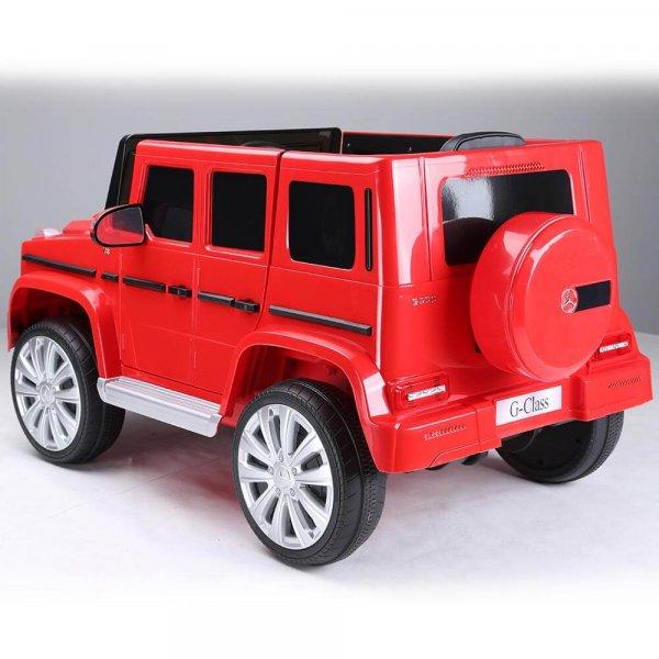 masinuta electrica mercedes g500 rosu