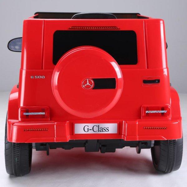 masinuta electrica mercedes g500 rosu 7
