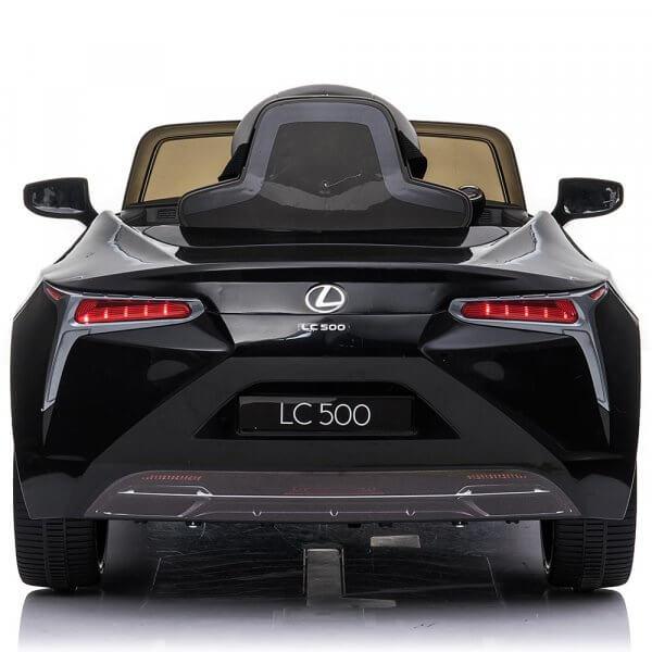 masinuta electrica pentru copii lexus lc500 negru 4