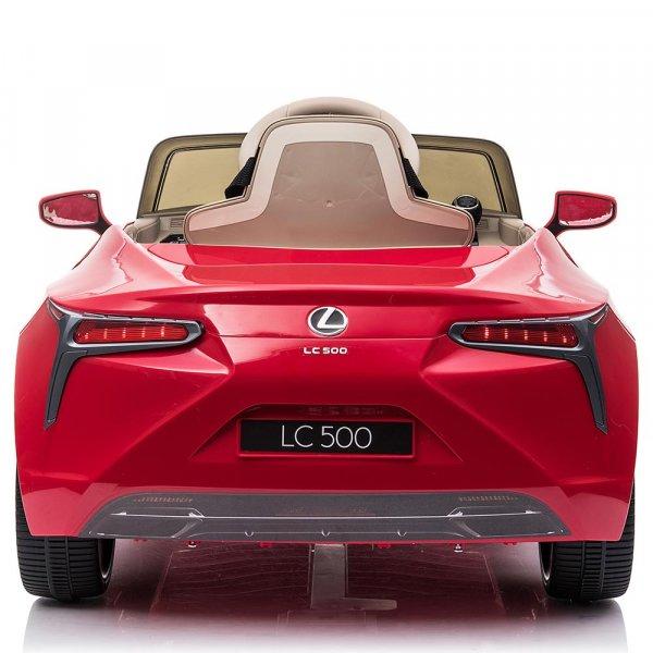 masinuta electrica pentru copii lexus lc500 rosu 1