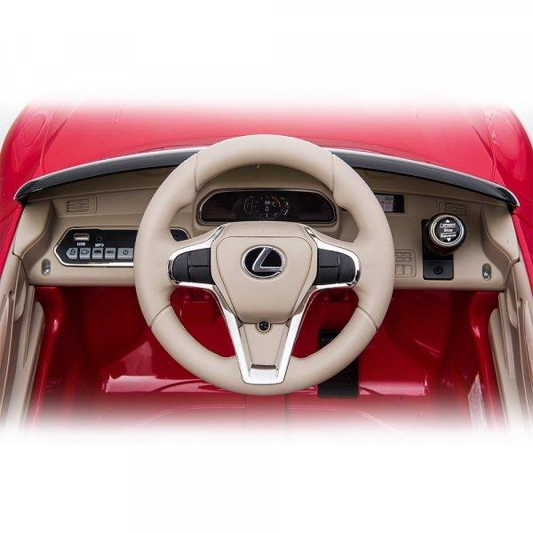 masinuta electrica pentru copii lexus lc500 rosu 6