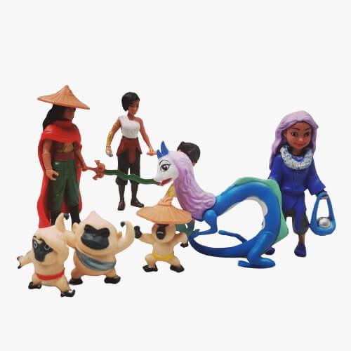 raya and the last dragon set 8 figurine 1