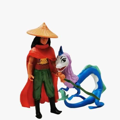 raya and the last dragon set 8 figurine 3