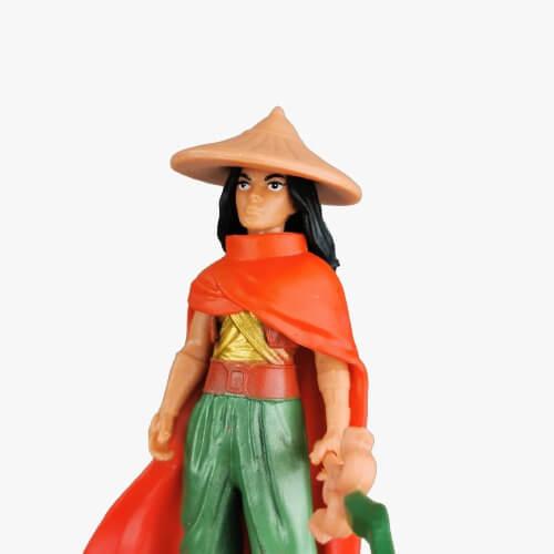 raya and the last dragon set 8 figurine