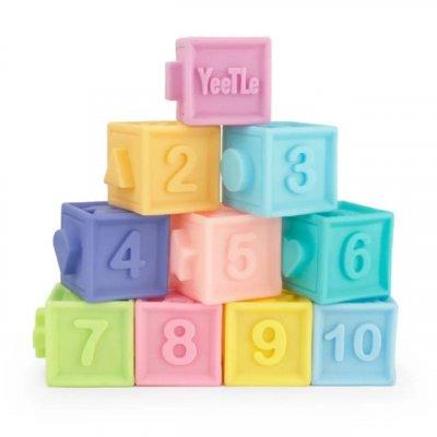 set 10 cuburi moi pentru bebe